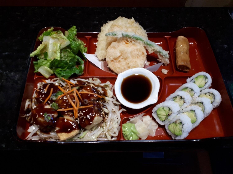 Vegetable Bento - Dinner