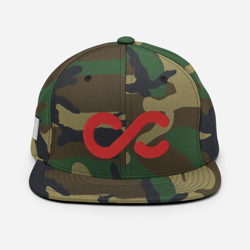 CC Infinite Snap Back- Camo