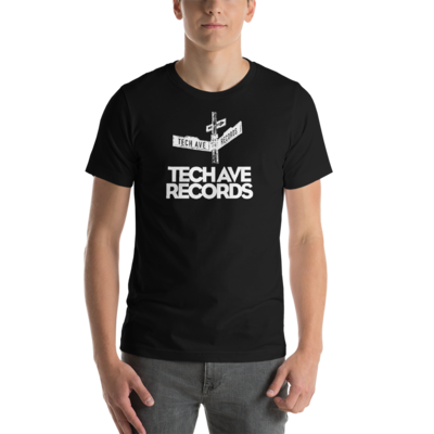 Short-Sleeve Unisex - TAR Black and White Combo Logo