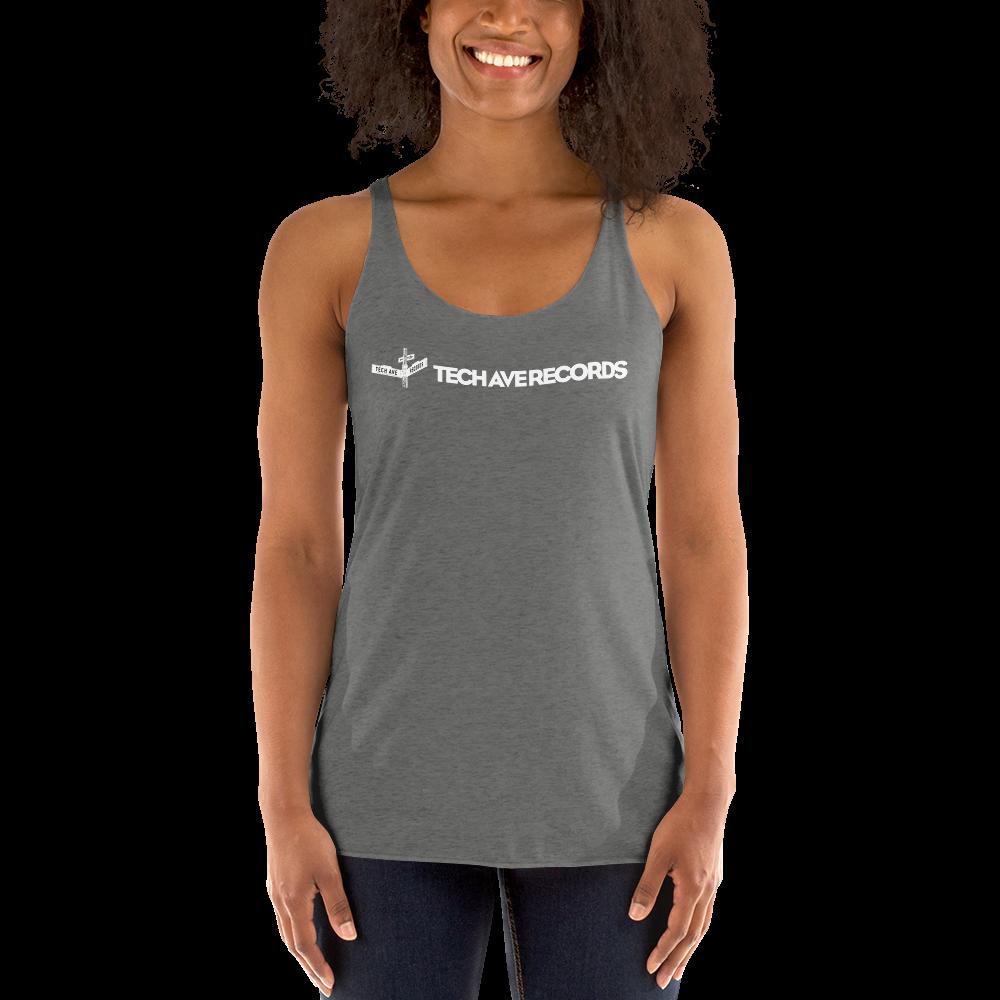 Women's Racerback Tank - TAR White Logo