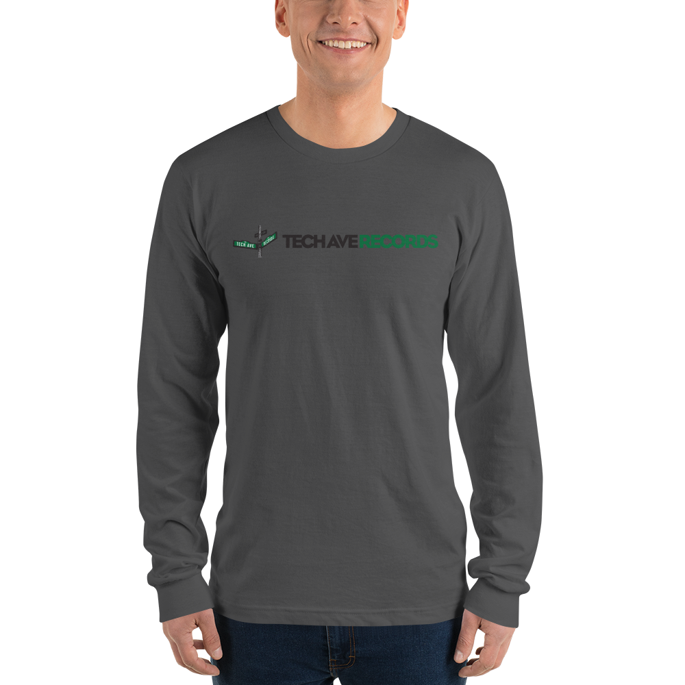 Long sleeve t-shirt - TAR Black and Green Logo