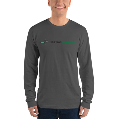 Long sleeve t-shirt - TAR Black and Green Logo