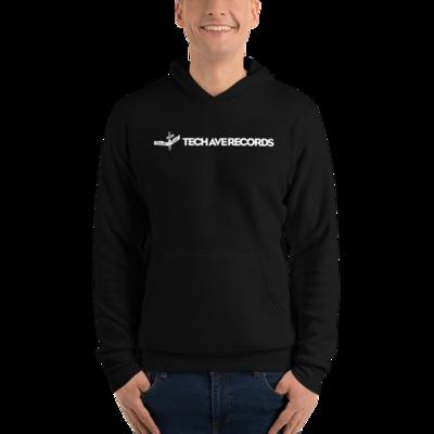 Unisex hoodie - TAR White Logo