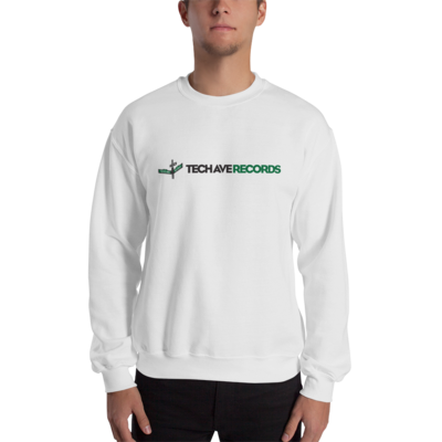 Unisex Crew Sweatshirt - TAR Black and Green Logo