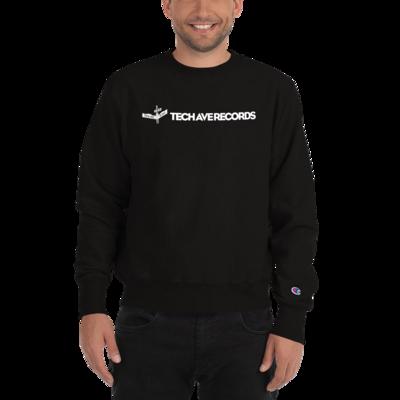 Unisex Champion Brand Crew Sweatshirt - TAR White Logo