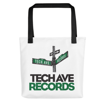 Tote bag - TAR Black and Green Logo