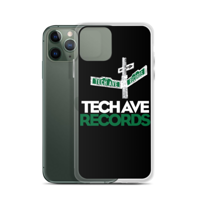 iPhone Case - TAR White and Green Stacked Logo