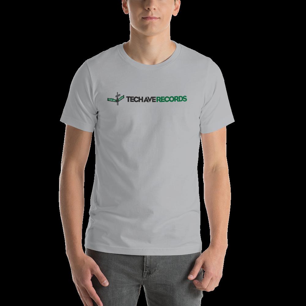 Short-Sleeve Unisex T-Shirt - TAR Black and Green Logo