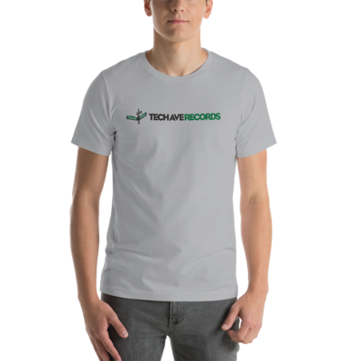 Short-Sleeve Unisex T-Shirt - TAR Black and Green Logo