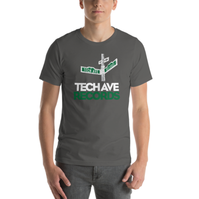 Short-Sleeve Unisex T-Shirt - TAR White and Green Logo