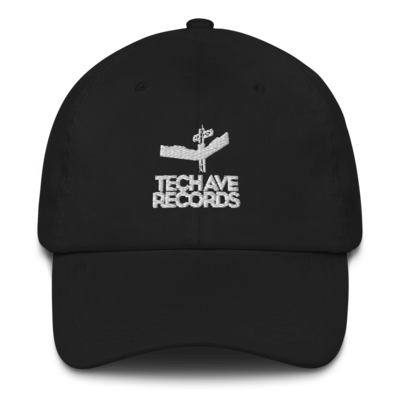 Dad hat - TAR White Stacked Logo