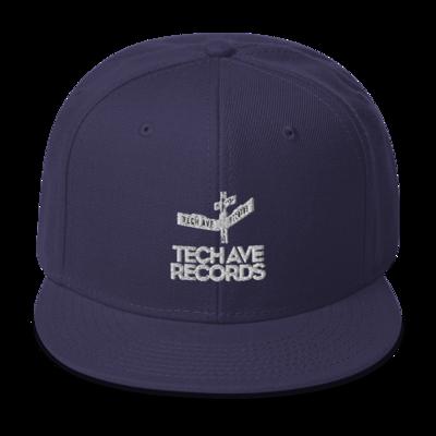 Snapback Hat - TAR White Logo