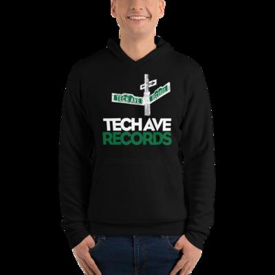 Unisex hoodie - TAR Stacked Logo
