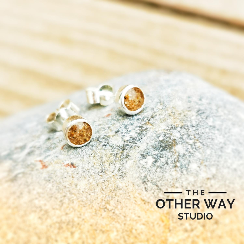 Llangennith Sand Earrings
