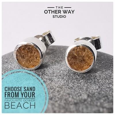 Gower Beaches Sand Earrings