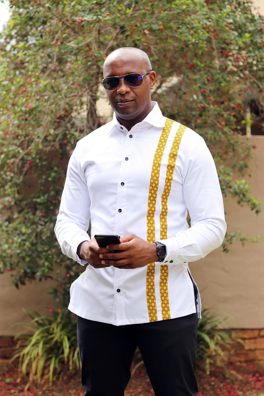 Kent Mkhalipi Slim Fit Shirt