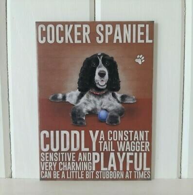Cocker Spaniel Fridge Magnet