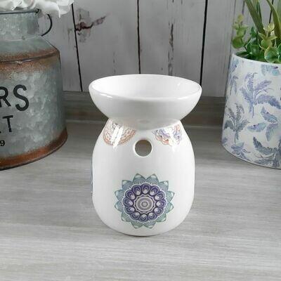 Blue Mandala Dream Ceramic Oil Burners Home Fragrance
