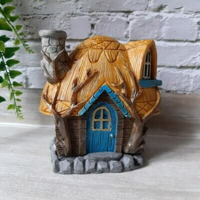 Fairy Homes Buttercup Cottage Incense Cone Burner by Lisa Parker
