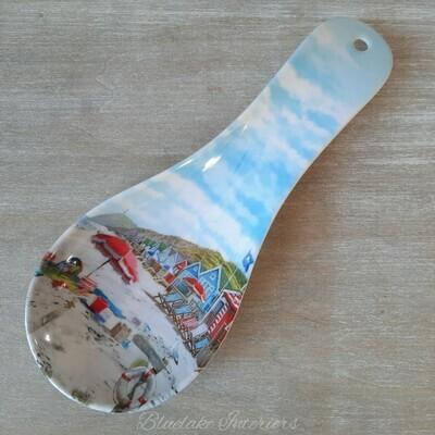 Sandy Bay Nautical Design Spoon Rest Beach Huts Seaside