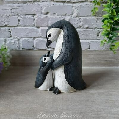 Mum Waddle I Do Without You Cute Penguin & Baby Ornament