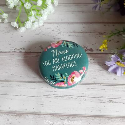 Blossom & Bee Compact Mirror Nana You Are Blooming Marvelous