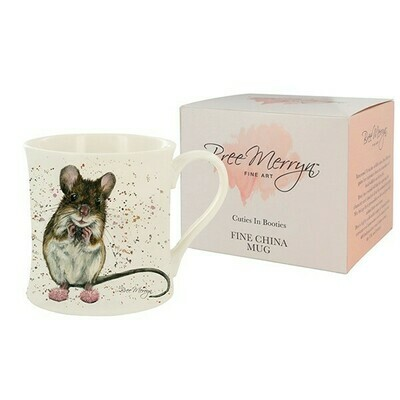 Bree Merryn Mimi Mouse Gift Boxed Mug Cuties In Booties