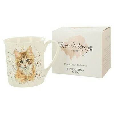Nutmeg Kitten Gift Boxed Mug From The Bree Merryn Collection
