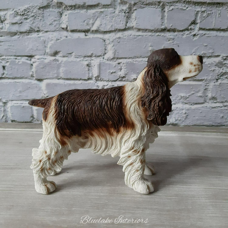 Liver & White Cocker Spaniel Dog Ornament Gift Boxed by Leonardo