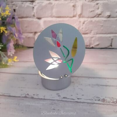 Small Faerie Deco Tea Light Holder