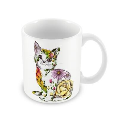 Stunning Rosie The Cat Ceramic Mug from Wraptious