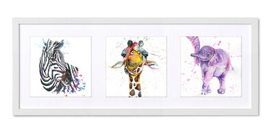 Stunning Africa Triptych From Wraptious