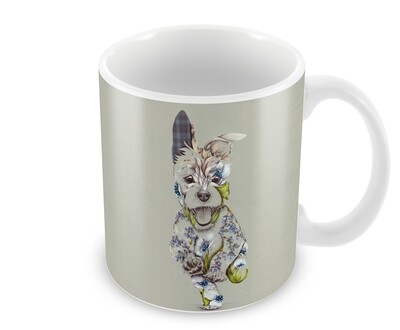 Rustic Cairn Ceramic Mug from Wraptious