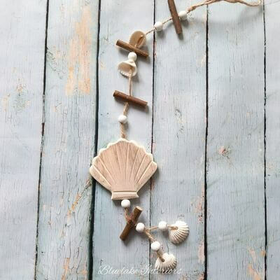 Hanging Nautical Shell Garland