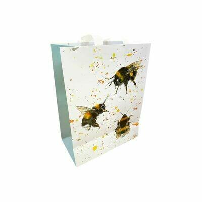 Gorgeous Bree Merryn Bee Design Medium Sized Gift Bag Bee Happy