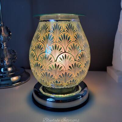 Stunning Oil & Wax Melt 3D Aroma Touch Lamp Gatsby Design