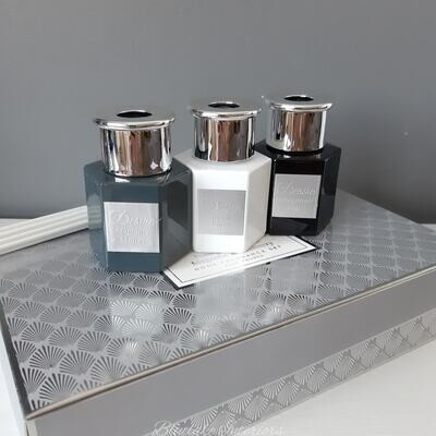 Desire Diffuser Home Fragrance Set Fresh Linen Pomegranate Magnolia Mulberry