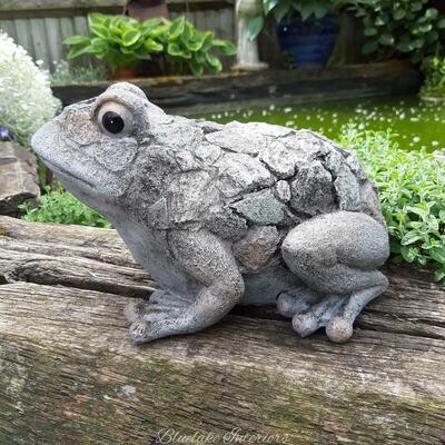 Large Deco Frog Garden Ornament