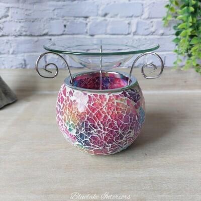 Desire Aroma Multi Colour Mosaic Oil & Wax Melt Burner