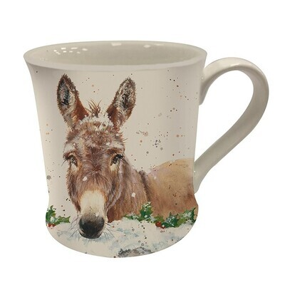 Dana The Donkey Christmas Gift Boxed Mug From The Bree Merryn Collection