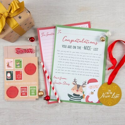 A Letter To Santa Children's Christmas Stationary Kit