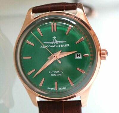 Zeno Watch Jules Classic Automatik - 2 Jahre Garantie