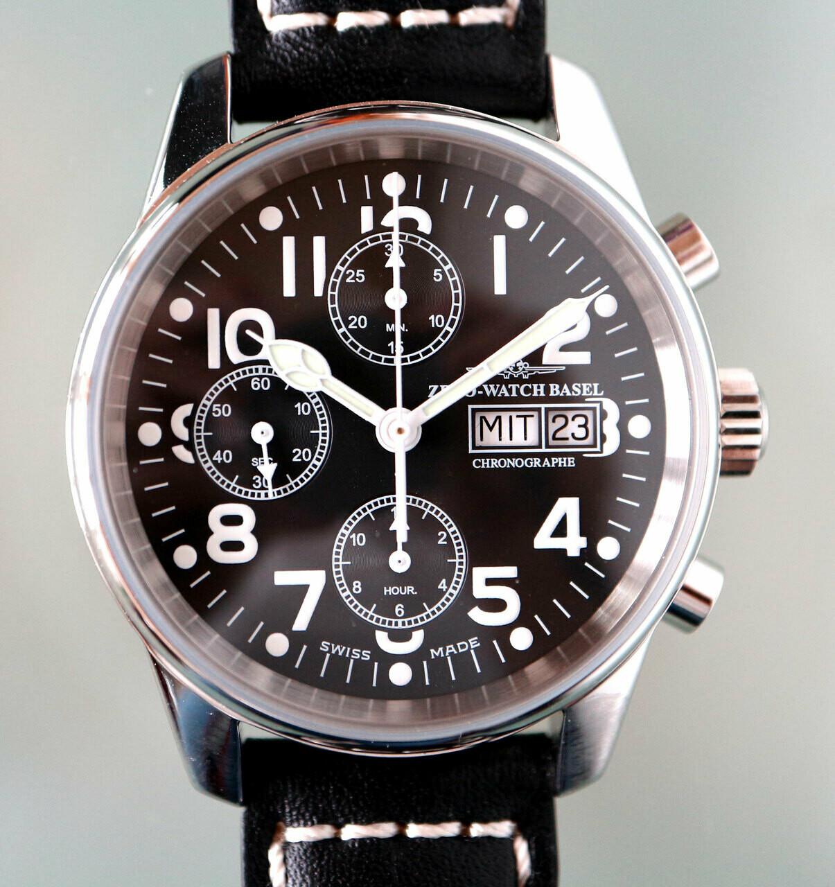 Zeno-Watch Classic Automatik Chronograph