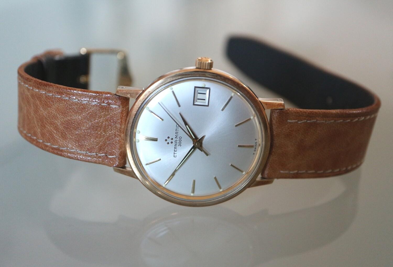 Eterna Matic 3000 Herren-Armbanduhr, Swiss Made ca. 1955