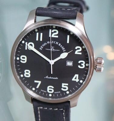 Zeno watch Giant Automatic XXL pilot – 2 Jahre Garantie, inkl. Uhrenbeweger!