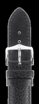 Hirsch Kansas Uhrenarmband / Strukturiertes Leder