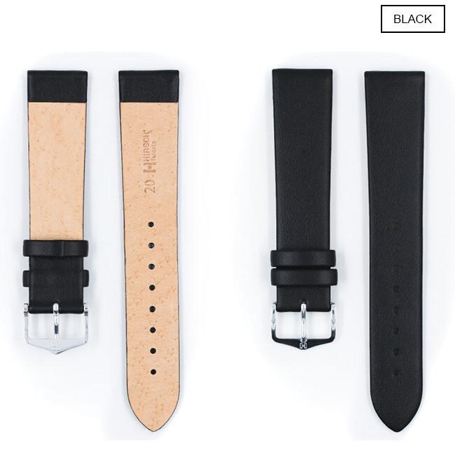 Hirsch Toronto Uhrenarmband / Kalbsleder