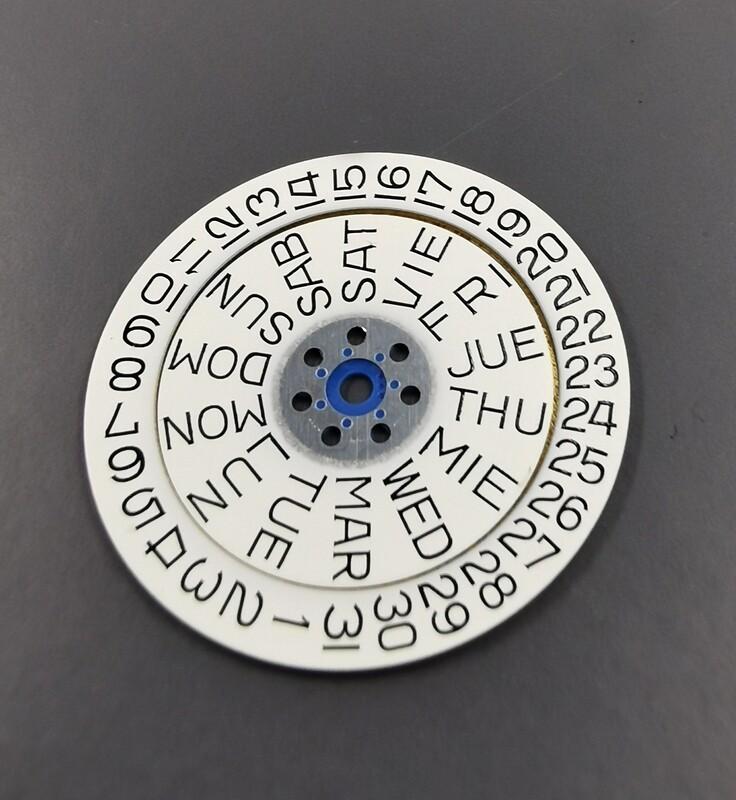 PUW 2430 Datumsscheiben-Set