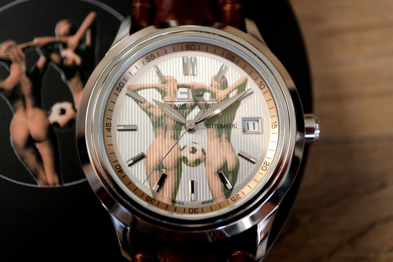 Erotik-Uhr Edouard Lauzières - Automatik mit Datum