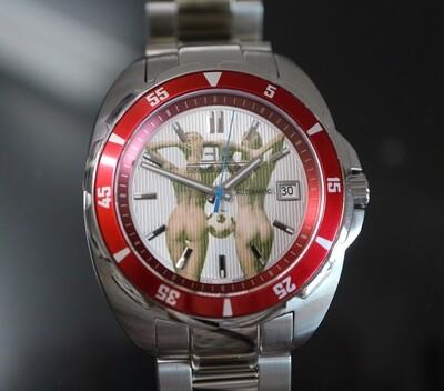 Erotik-Uhr Edouard Lauzières - Limitierte Edition 2020 - Sport-Automatik mit Datum